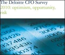 Deloitte CFO survey