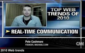 Mashable Pete Cashmore