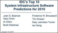 IDC - System Infrastructure