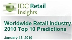 IDC Retail 2010 Predictions