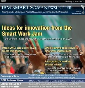 IBM SOA Newletter