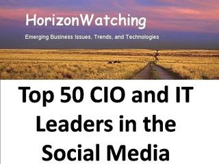 Top 50 CIO and IT Leaders in the Social Media