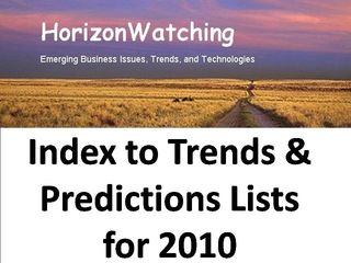 HorizonWatching - Top Trends Index-2010