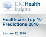 IDC Healthcare 2010 Predictions