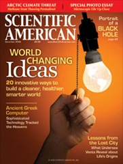 Scientific American 20 World Changing Ideas