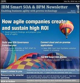 IBM SOA Newletter - July