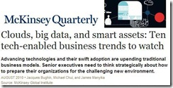 McKinsey Ten Trends Aug2010