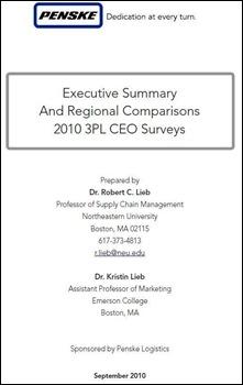 Penske - 2010 3PL CEO Survey