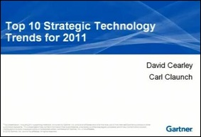 Gartner Ten Strategic 2011