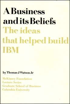 A Business and its Beliefs